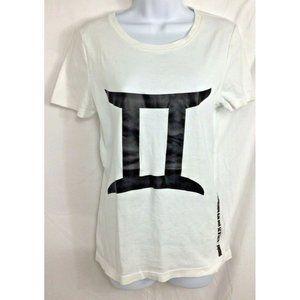 Norma Kamali Gemini Shirt Sz L White 100% Organic